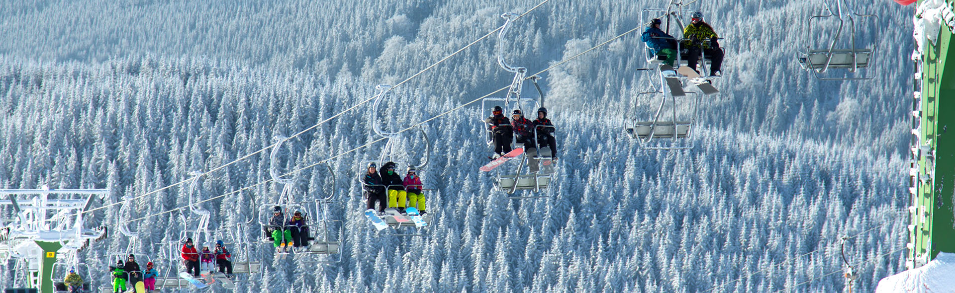 Cable cars and ski lifts