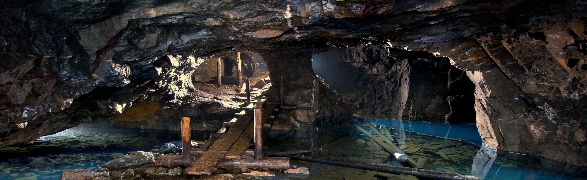 The mining landscape of Boží Dar is in UNESCO