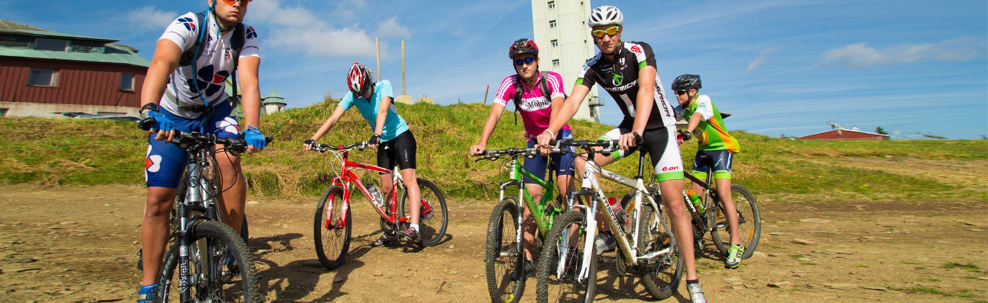 Klínovec Downhill Tracks