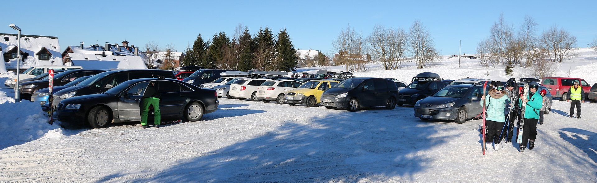 Parking in Boží Dar
